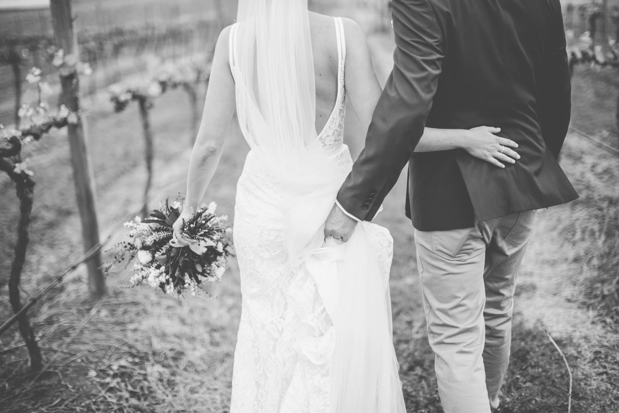 Black and white-Romantic-Wedding